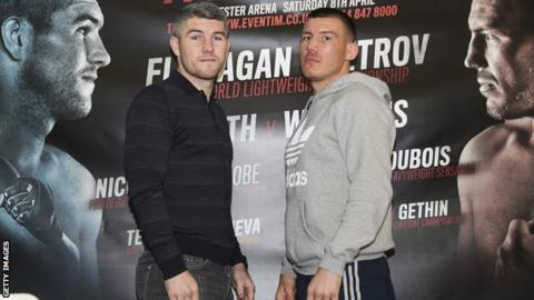 Liam Smith and Liam Williams