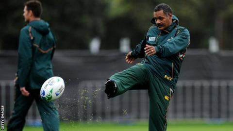 Former South African coach Peter de Villiers appointed Sables head coach