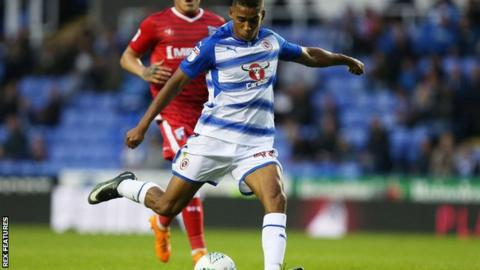 Andy Rimonhota in action for Reading