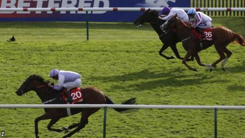 Dolphin Vista wins the Cambridgeshire