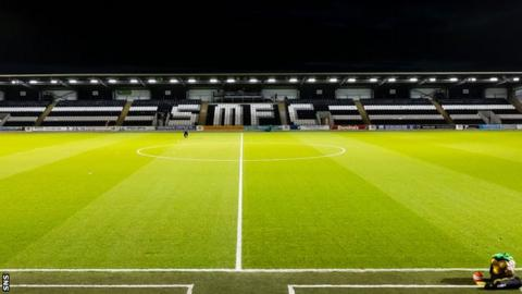 St Mirren pitch