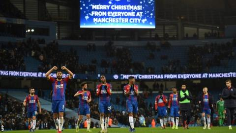 Townsend wonder strike helps Palace stun Manchester City