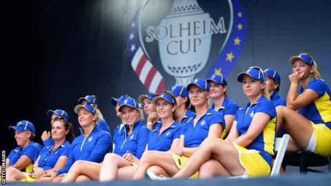 Team Europe at the 2017 Solheim Cup
