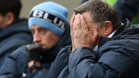 Tony Mowbray's Sky Blues suffered their second home defeat at the Ricoh Arena in eight days