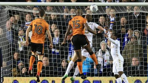 Willy Boly scores for Wolves