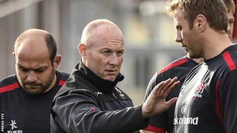 Ulster Rugby head coach Neil Doak is a former Ireland cricket international and once took the wicket of West Indies legendary batsman Brian Lara