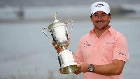 Graeme McDowell wins the US Open in 2010