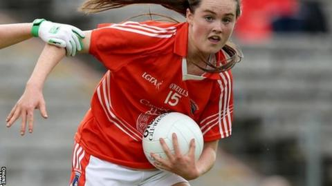 Aimee Mackin scored a goal for Armagh in their All-Ireland senior semi-final defeat by Dublin