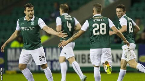 Hibs came from behind to beat Livingston on Tuesday