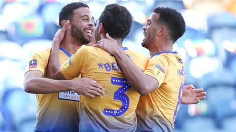 Mansfield celebrate
