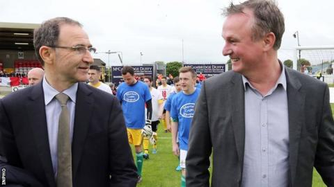 O'Neill hits back at NI manager's 'Catholic' remarks