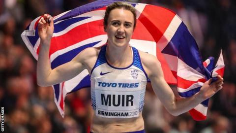 Laura Muir picked up two World Indoor medals in Birmingham last year