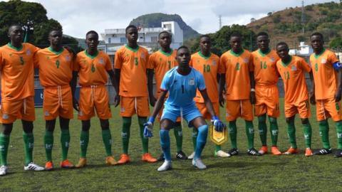 Zambia's Under-17 team
