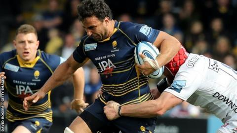 Worcester flanker Marco Mama joined the Warriors from Bristol in 2015