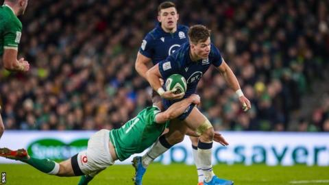 Scotland make three changes as Townsend talks up Italy threat