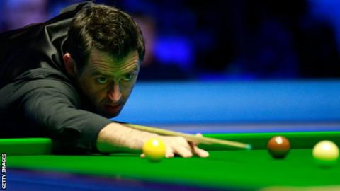O'Sullivan trailed 6-2 going into the evening session