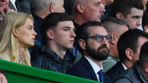 Arsenal confident Kieran Tierney deal can be agreed with Celtic