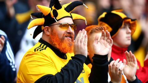 Wolverhampton Wanderers fan