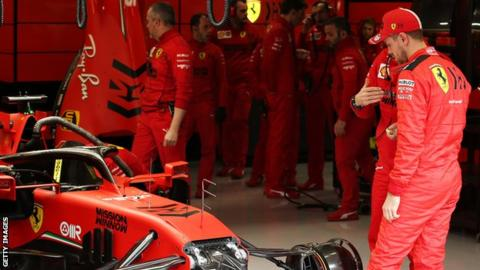 Ferrari and Sebastian Vettel will not be in action until at least May