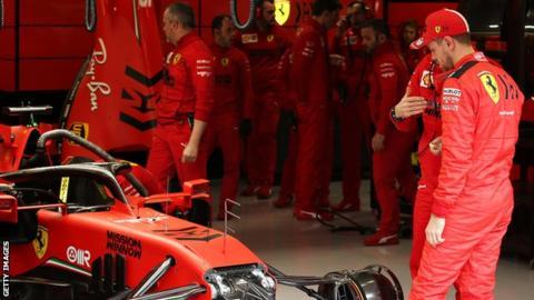 Ferrari F1 team shuts Maranello factory due to coronavirus pandemic