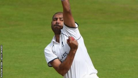 Jeetan Patel has match figures of 10-170 as he prepares to celebrate his first home Championship win as Bears captain