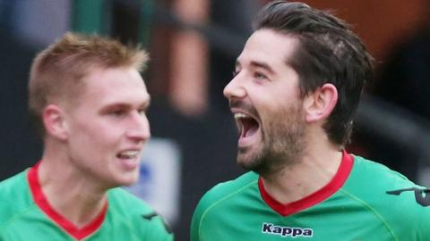 Glentoran have lost just one of their last eight matches in the Irish Premiership