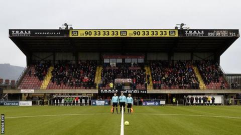 Seaview is the home of Irish Premiership champions Crusaders