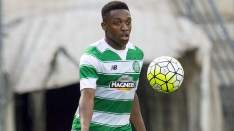 Celtic defender Darnell Fisher