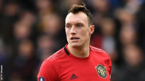 Phil Jones out of Europa League as Manchester United travel to Germany