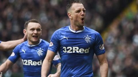 Rangers defender Clint Hill gave the visiting fans something to cheer with a late leveller