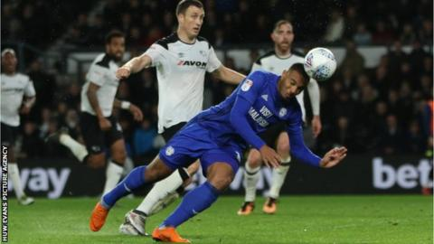 Kenneth Zohore scored nine goals for Cardiff last season, with fellow forward Danny Ward adding another four