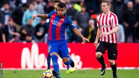Inter snap up Rafinha on loan from Barcelona