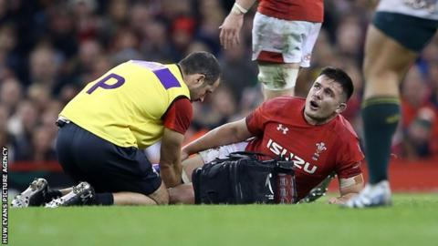 Ellis Jenkins took over the Cardiff Blues captaincy from Gethin Jenkins this season