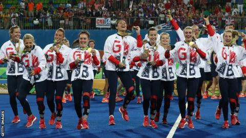 GB win hockey gold in Rio at the 2016 Olympic Games