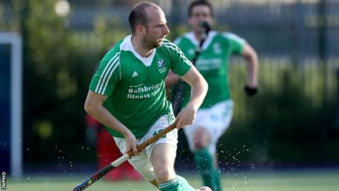 Ireland forward Peter Caruth was on the scoresheet for Annadale against Cookstown