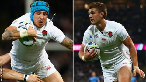 Jack Nowell (left) and Henry Slade