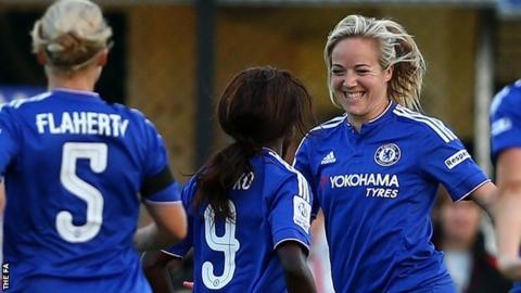 Chelsea's Gemma Davison