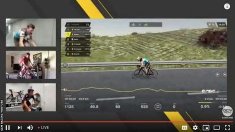 Van Avermaet wins 'funny' virtual Tour of Flanders from his attic
