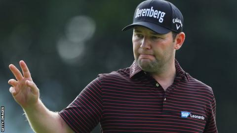 South African Open: Branden Grace cards three eagles in opening round