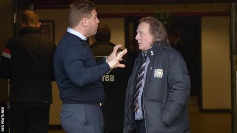 Karl Robinson and Pete Winkleman