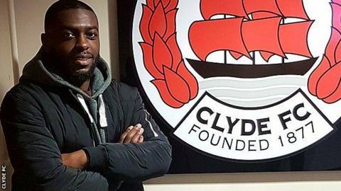Clyde signing Steve Kipre