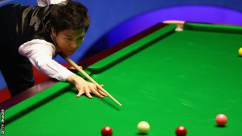 Thepchaiya Un-Nooh makes a 147 at the English Open