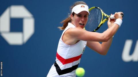 US Open: Third seed Karolina Pliskova knocked out by Johanna Konta