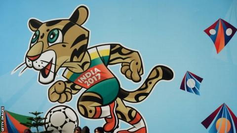 The 2017 Under-17 World Cup mascot