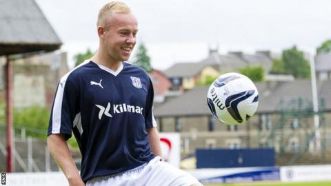 Dundee midfielder Nicky Low
