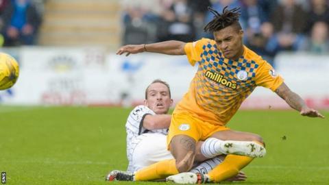 Morton striker Jai Quitongo