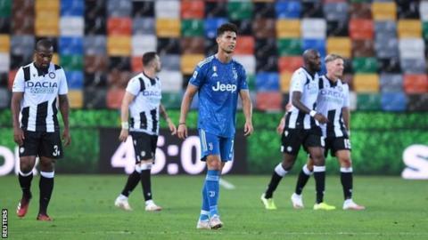 Juventus beats Sampdoria to win ninth straight Serie A title
