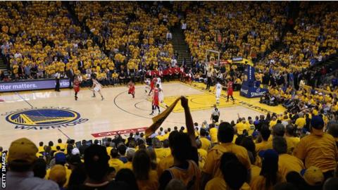 For 100 per month, basketball games to have access inside the Oracle Arena  - without a view of the court