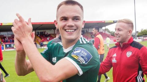 Rory Hale was released by Aston Villa in 2017 after four years at the club and spent last season at Galway United before joining Derry City