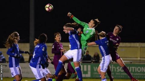 Ann-Katrin Berger has kept 18 clean sheets in her 47 appearances for Blues to date